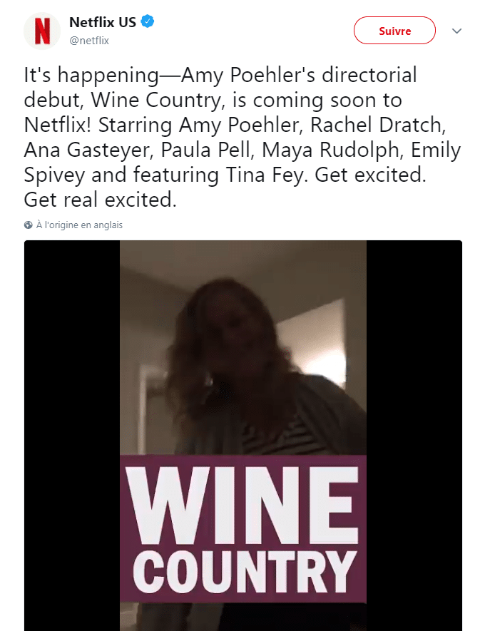 Wine country netflix